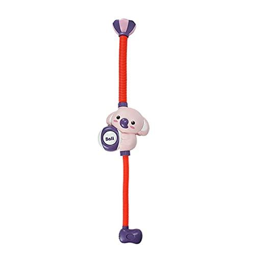 Greatangle-UK Ducha eléctrica de Dibujos Animados Elefante Juguetes de rociado de Agua Grifo baño bañera Juego Educativo para niños Rojo