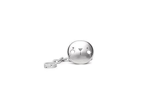 Suavinex 306641 - Cadena para chupete, color gris