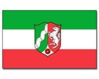 Flagge 90 x 150 : Nordrhein-Westfalen