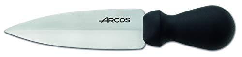 Arcos Utensilios Profesionales - Cuchillo Parmesano - Hoja de Acero Inoxidable 140 mm - Mango de Polipropileno Color Negro