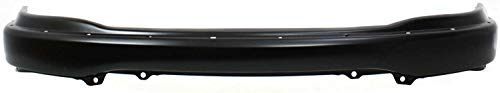 Front Bumper Compatible with 1999-2003 Ford F-150 Black with Pad Holes