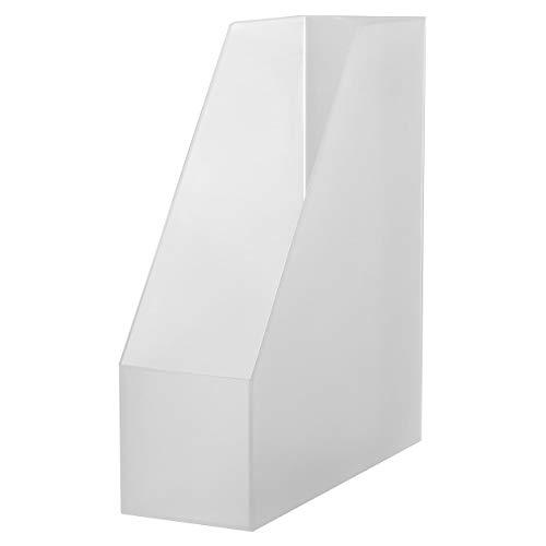 無印良品 ポリプロピレンスタンドファイルボックス・A4用 約幅10×奥行27.6×高さ31.8cm 02555696