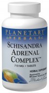Schizandra Adrenal Support Planetary Herbals 120 Tabs