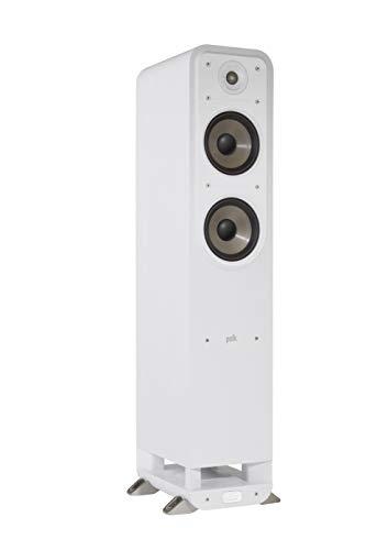 Polk Audio Signature S50E Standlautsprecher, HiFi Lautsprecher für Musik und Heimkino Sound, passiver Full Range Lautsprecher, 20 - 150 Watt, 8 Ohm, High Res, 42Hz - 40kHz (Stück)