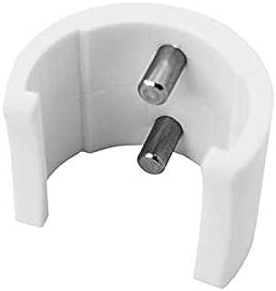 Clip de Wishbone UNIFIBERDouble pin Locker Hard Plastic Blanc