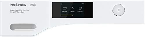 Miele WCR860 WPS PWash2.0&TDos XL&WiFi – Lavadora (Independiente, Carga frontal, Blanco, Tocar, Derecho, Acero…