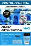 Compra conjunta Auxiliar Administrativo de Corporaciones Locales. Incluye acceso gratis a Curso Oro con más de 4000 preguntas de test online