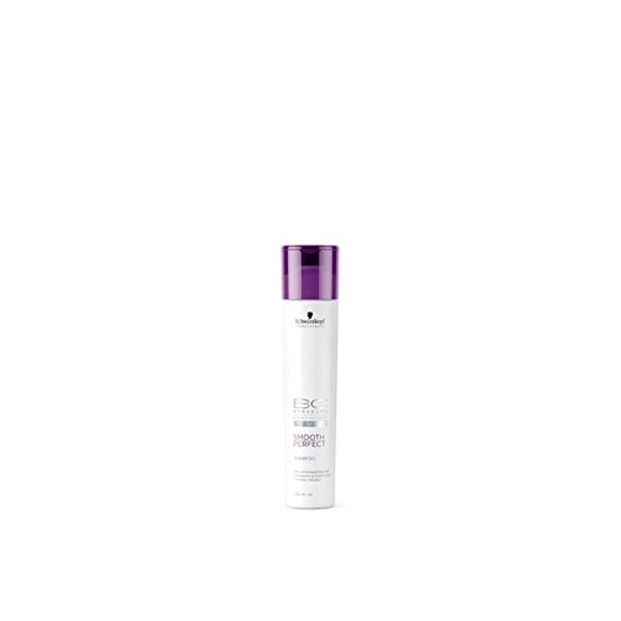 意欲雪の臭いなめらかな完璧なシャンプー(250ミリリットル)シュワルツコフ x2 - Schwarzkopf Bc Smooth Perfect Shampoo (250ml) (Pack of 2) [並行輸入品]
