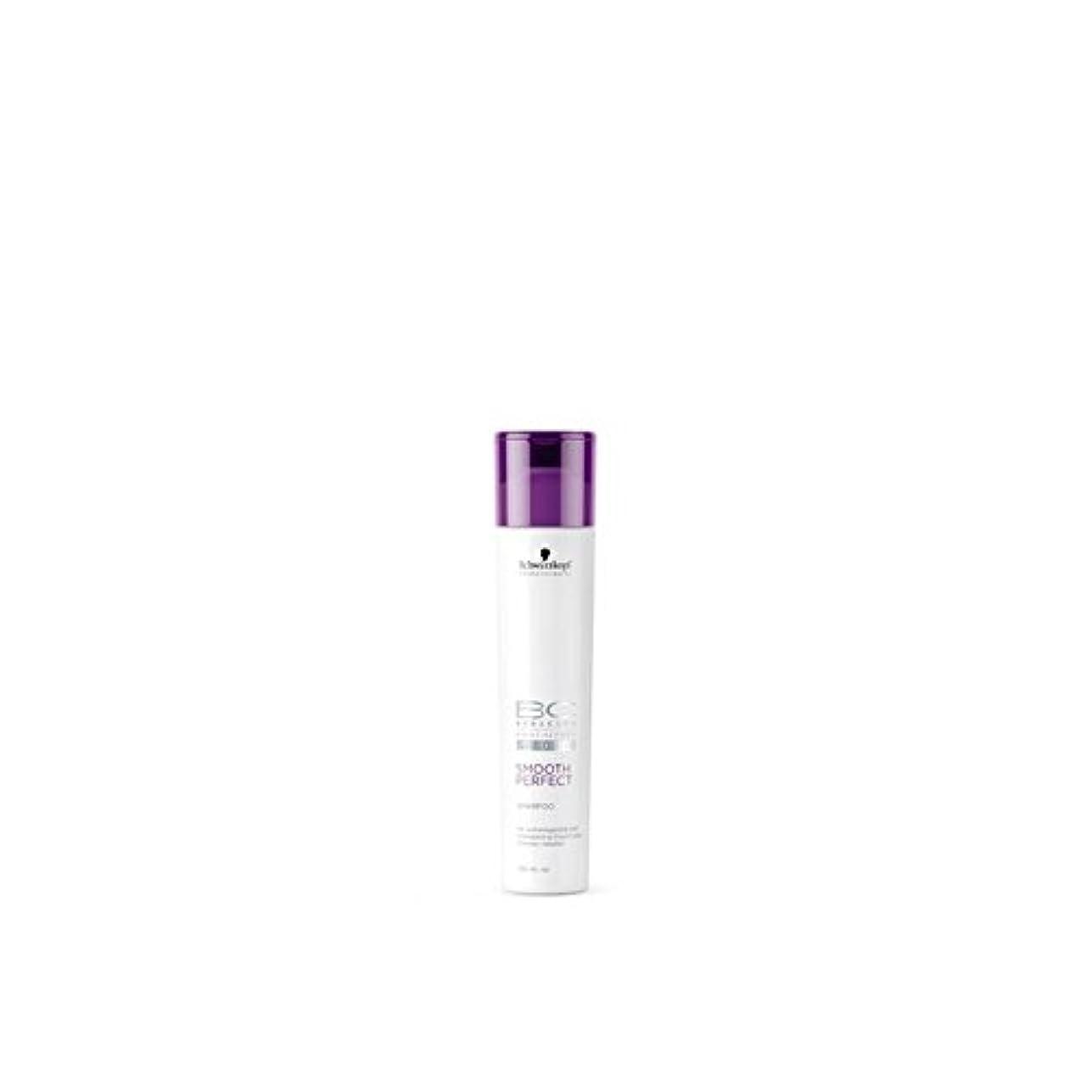 ぼかす比較やりがいのあるSchwarzkopf Bc Smooth Perfect Shampoo (250ml) (Pack of 6) - なめらかな完璧なシャンプー(250ミリリットル)シュワルツコフ x6 [並行輸入品]