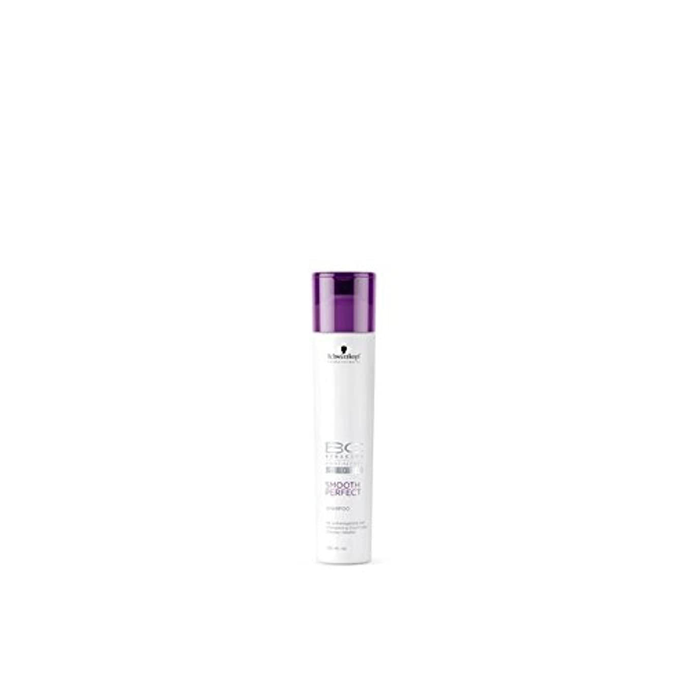 急性ふくろう信じられないSchwarzkopf Bc Smooth Perfect Shampoo (250ml) - なめらかな完璧なシャンプー(250ミリリットル)シュワルツコフ [並行輸入品]