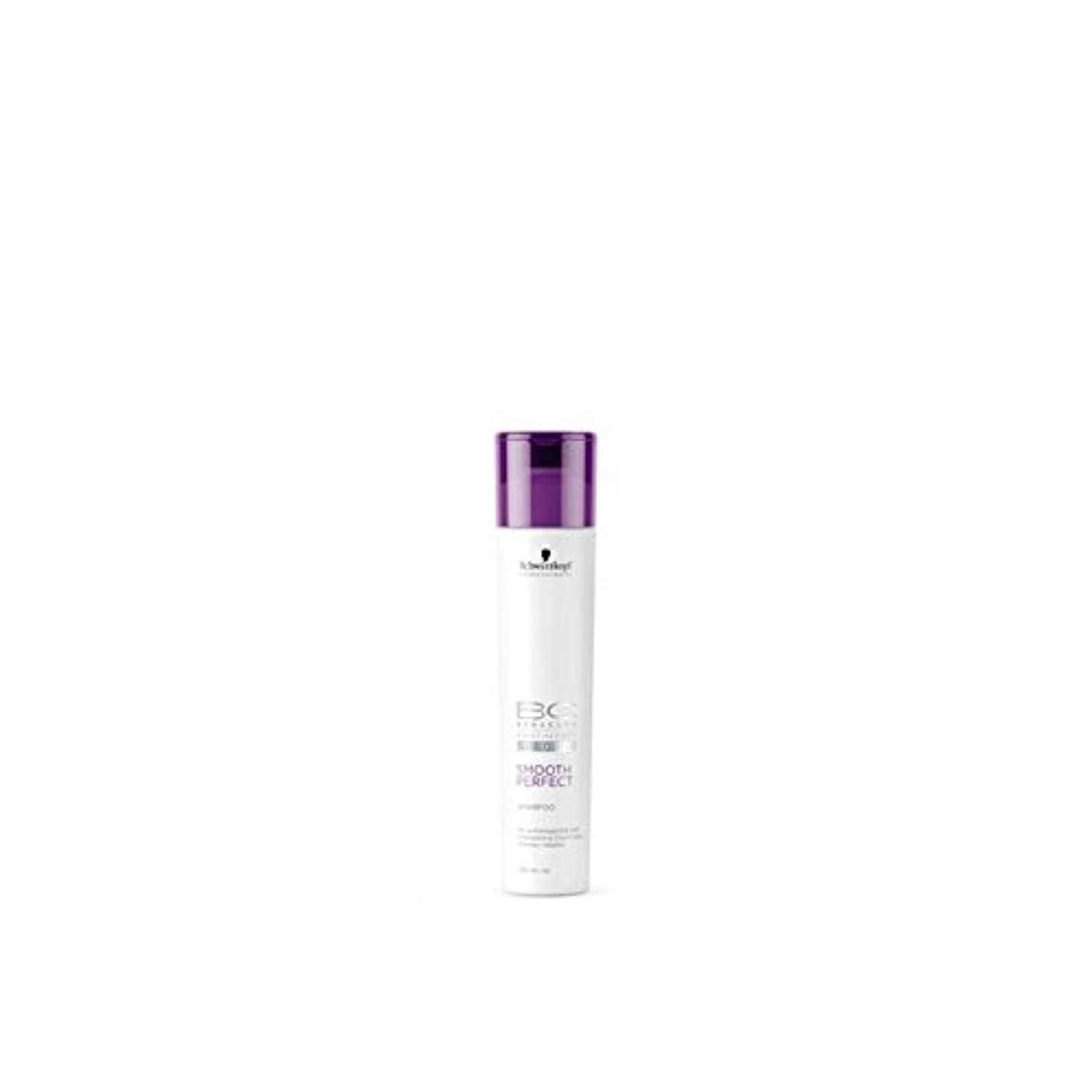 なめらかな完璧なシャンプー(250ミリリットル)シュワルツコフ x4 - Schwarzkopf Bc Smooth Perfect Shampoo (250ml) (Pack of 4) [並行輸入品]