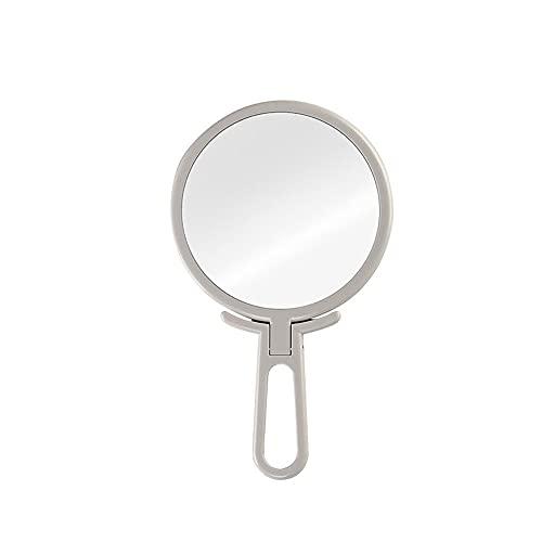 CZFSKCZ Specchio Portatile con Manico, per Il Trucco vanità Uso di Viaggio per Il Salone di casa