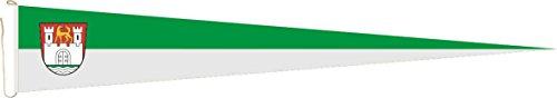 U24 Langwimpel Wolfsburg Fahne Flagge Wimpel 300 x 40 cm Premiumqualität