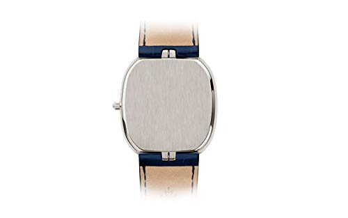 Patek Philippe Golden Ellipse Platinum 5738P-001 with Blue Gold Sunburst dial