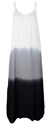 Guru-Shop, Smalle Batikjurk, Strandjurk, Zomerjurk, Blauw, Synthetisch, Size:14, Lange Midi-jurken