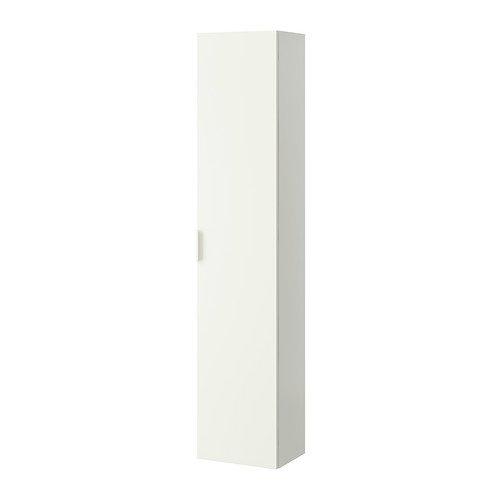 IKEA GODMORGON–Alto armario, color blanco–40x 30x 192cm