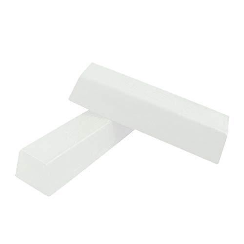 SUPVOX 2 Stk. Polierpaste Feinpolierpaste Edelstahl Schmuck für die Metallbearbeitung weiße...