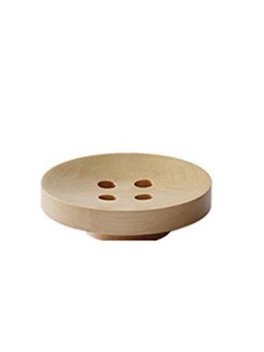 I-Light-U Gancho de Madera Maciza Simple suspensión Colgante de Pared Creativo Perchero decoración botón Porche Colgante