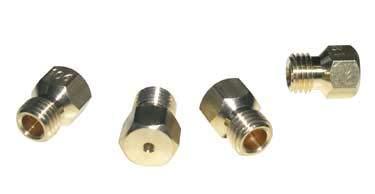 SACHET 4 INJECTEURS GAZ NATUREL POUR CUISINIERE SCHOLTES - C00021379