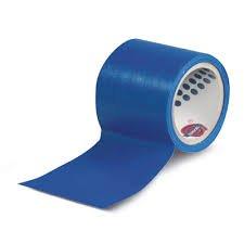Geko Chiffon Ruban adhésif avec étiquette Avant, Bleu, 50 mm x 25 m