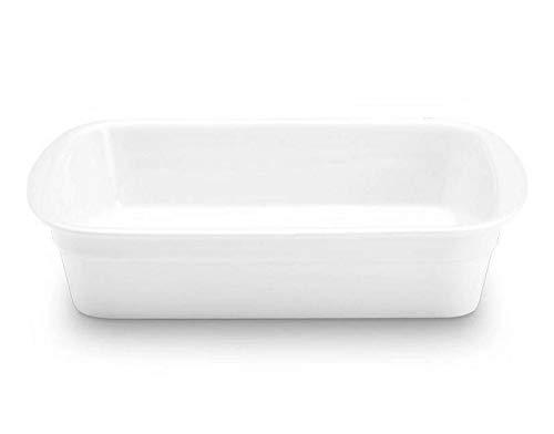 Pillivuyt Porcelain Heavy-Duty Medium 11-1/2-by-9-1/2-Inch Lasagne Baker