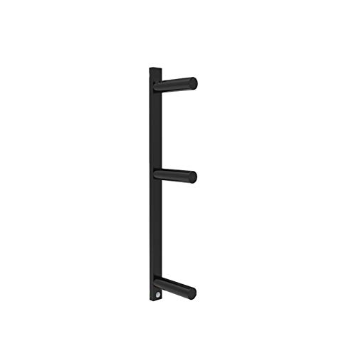 Wall-mounted Barbell Rod Storage Frame Gym Home Fitness Barbell Bar Holder Hanging Barbell Rack Barbell Rod Display Bracket Excluding Barbell Plate & Bar,B