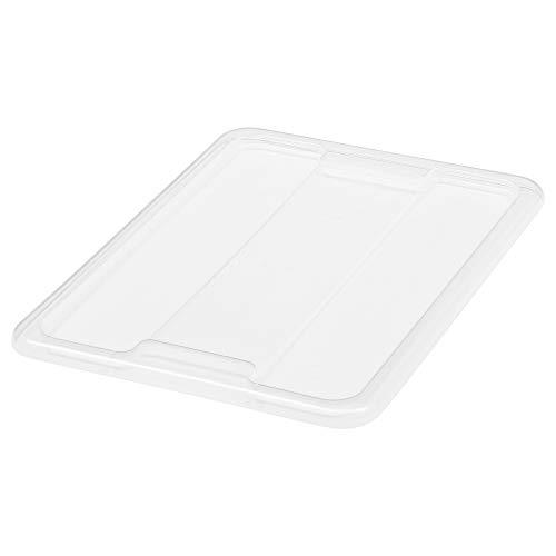 IKEA.. 501.102.99 Samla Tapa para Caja, 3/6 galones, Transparente