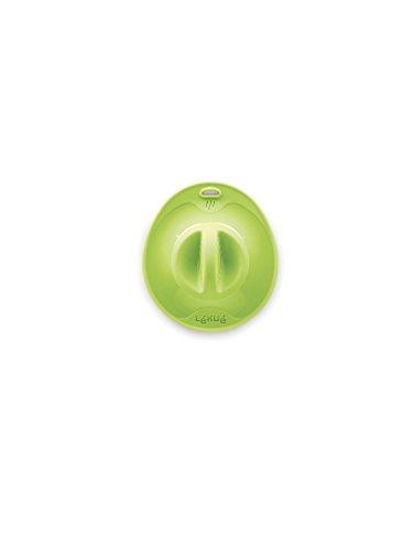 Lékué 1270517V10U002 Couvercle Hermétique Silicone Vert 18,5 x 17 x 2,5 cm
