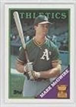 mark mcgwire baseball card 1988