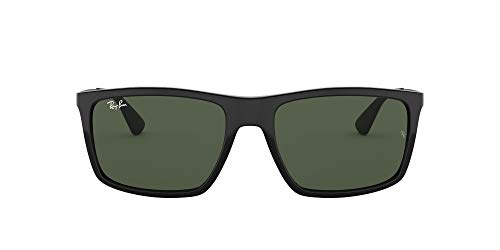 Ray-Ban Rb4228 601/71 Gafas de sol, Black, 58 para Hombre