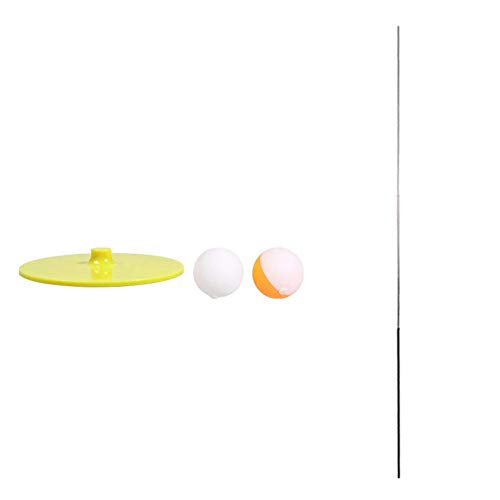Great Deal! heaven2017 Table Tennis Training Practice Game Elastic Shaft Ping Pong Ball Trainer With...