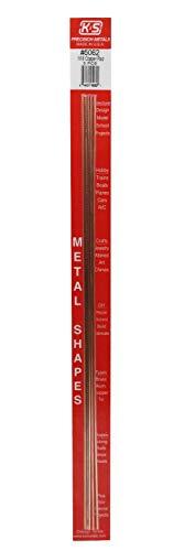 K&S Precision Metals 5062 Copper Rod Music Wire, 1/16
