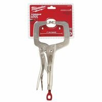 Milwaukee Electric Tools 495-48-22-3531 Torque Lock C-Clamp Locking Pliers With Regular Jaws44; 11 in.