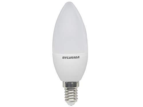 Sylvania SYL0026920 Ampoule Flamme Toledo Cande 250 lumens E14-boite, Aluminium, E14, 3 W, Blanc