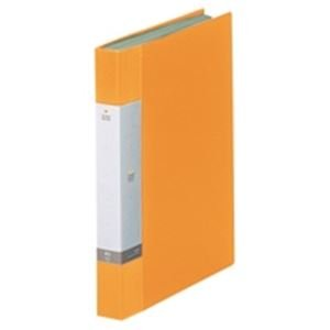 (業務用20セット) LIHITLAB クリアブック/クリアファイル リクエスト 〔A4/タテ型〕 固定式 40ポケット G3202-5 黄