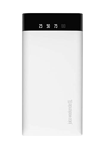 Juice Weekender XL Power Bank Portable Charger for Apple iPhone, Samsung, Huawei, Microsoft, Oppo, Sony - White
