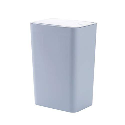 XVXFZEG De Tipo Push-Pop Tapa Clasificación Bote de Basura, Domésticos de Cocina PP Material de Bote de Basura, Oficina 12L de Gran Capacidad Cesta de Papel, Dormitorio y Sala de Estar con la presión