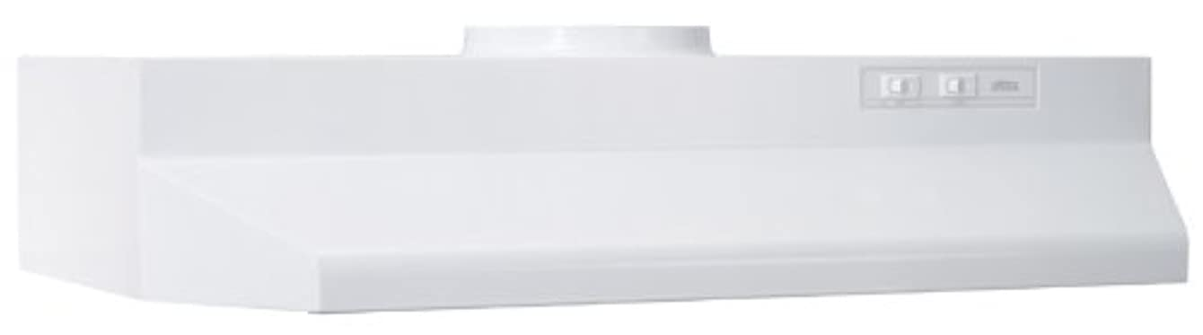 Broan 423601 ADA Capable Under-Cabinet Range Hood, 190 CFM 36-Inch, White