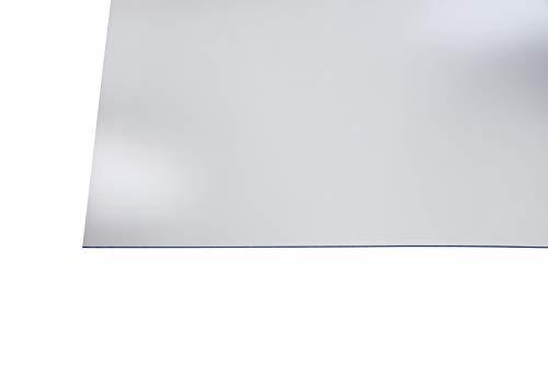 Preisvergleich Produktbild Kunststoff Bastelplatten glasklar 250 x 500 x 2 mm zum Basteln,  für Hinterglasmalerei,  Möbelverglasungen,  Modellbau
