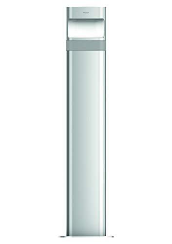 Theben 1020706 theLeda D BL plus AL – LED-Poller-Leuchte (lang), Gartenleuchte, Design-Aussenlampe, 8.5 Watt, aluminium