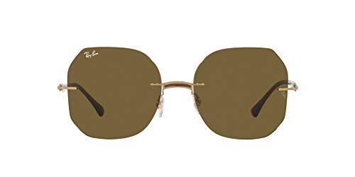Ray-Ban 0RB8067 Gafas, BROWN ON ARISTA, 57 Unisex Adulto