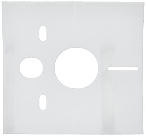 Sanit Schallschutzset für Wand-WC und Bidet, 1 Stück, weiß, 16.002.00..0000 - 2