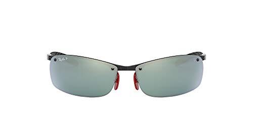 Ray-Ban Herren 0RB8305M Sonnenbrille, Schwarz (Dark Carbon), 40.0
