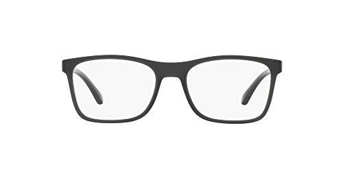 Arnette Akaw Monturas de gafas, Matte Transparent Grey, 53 para Hombre