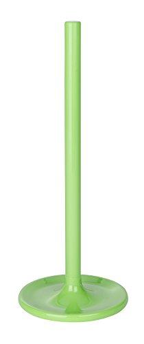 WENKO Toilettenpapier-Ersatzrollenhalter Cocktail Grün, Polystyrol, 14 x 35 x 14 cm, Grün
