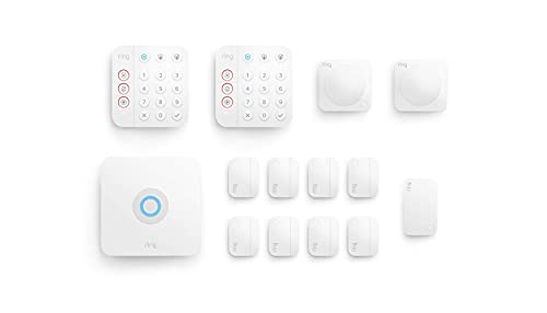 Ring Alarm 14-piece kit (2nd Gen) – home security system with optional 24/7 professional monitoring – Works with Alexa
