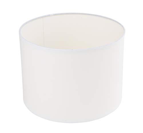 Rayher 2308302 - Pantalla para lámpara de pie y techo (25 cm), color blanco