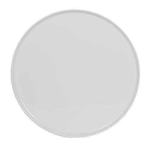Table Passion - plat à tarte porcelaine blanche 32 cm