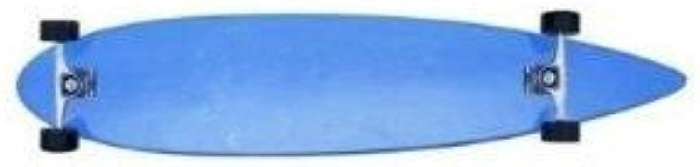 Krown Longboard Komplettboard Skateboard Logo Blau Pintail B007XNY7BK  Keine Begrenzung zu üben