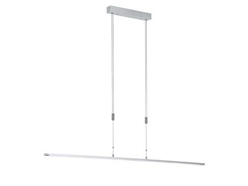Honsel LED Pendelleuchte METZ höhenverstellbar & dimmbar, Länge 160 cm